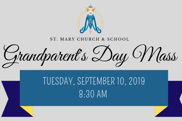 Grandparent's Day Mass