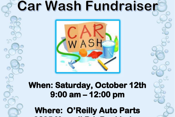 8th Grade Car Wash Fundraiser