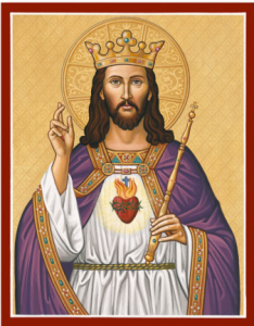 Jesus as King Icon