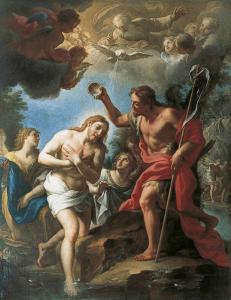 Painting of Jesus Baptism