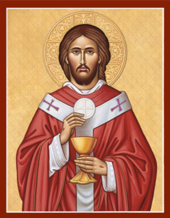 Jesus as Priest Icon