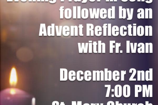 Advent Reflection