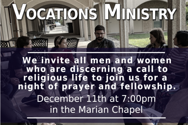 Vocations Ministry