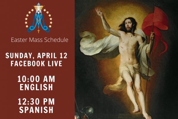 Easter Mass Schedule