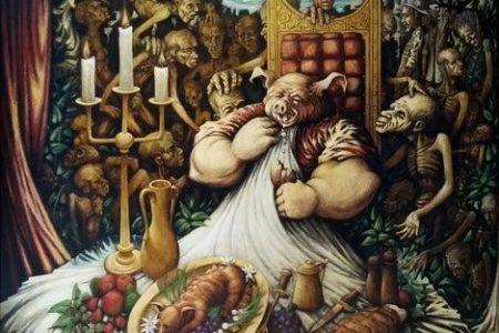 Los Siete Pecados Principales: La Glotonería
