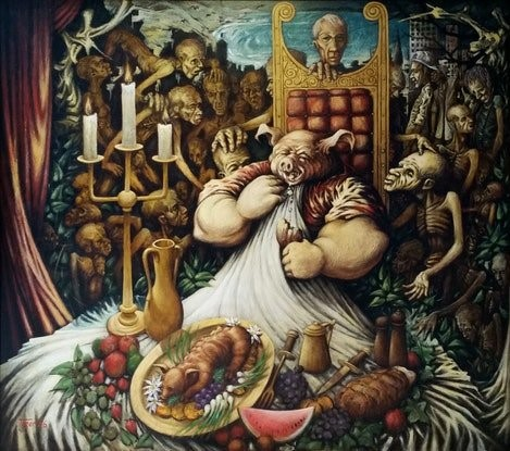 The Seven Deadly Sins: Gluttony
