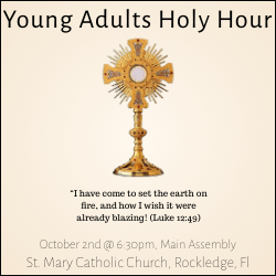 Young Adults Holy Hour