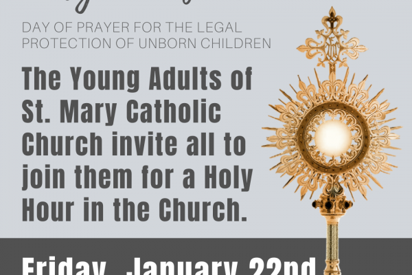 Holy Hour for the Unborn