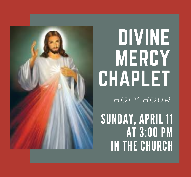 Divine Mercy Holy Hour