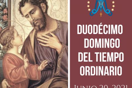 Duodécimo Domingo del Tiempo Ordinario