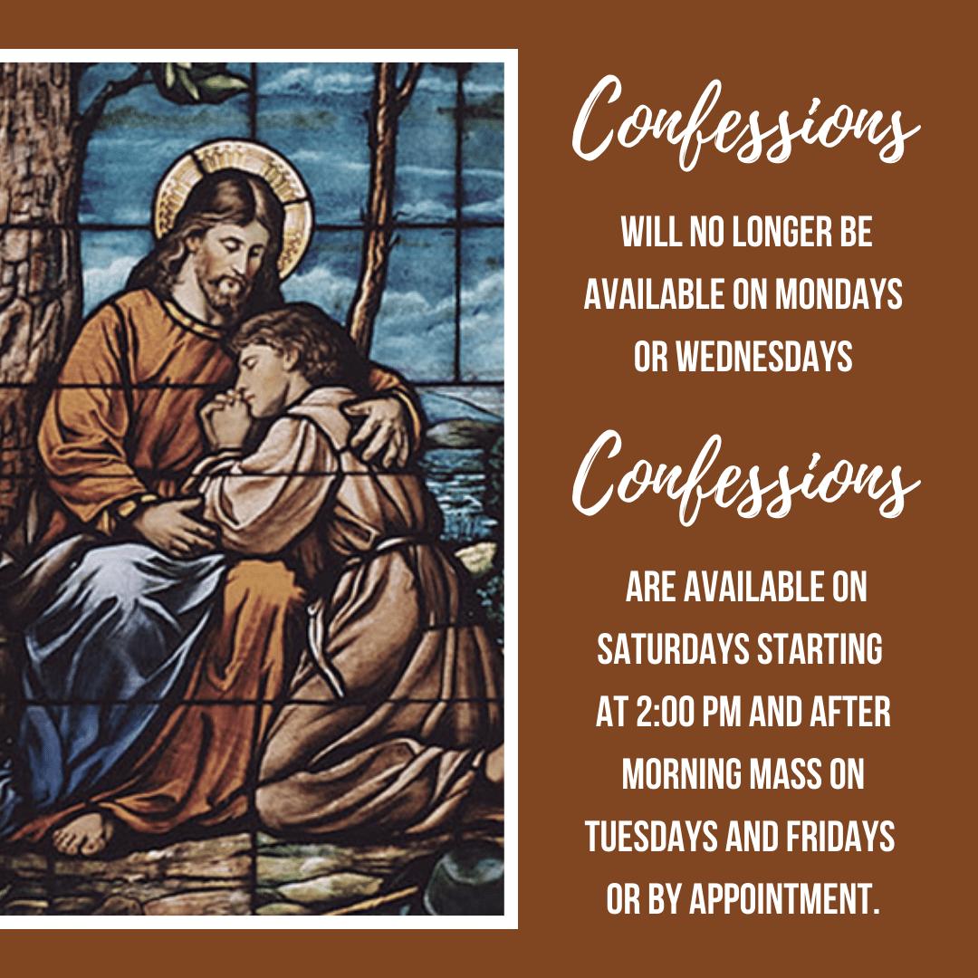 Confession Times