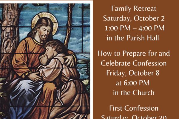 First Reconciliation Preparation