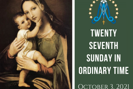 Twenty-Seventh Sunday in Ordinary Time