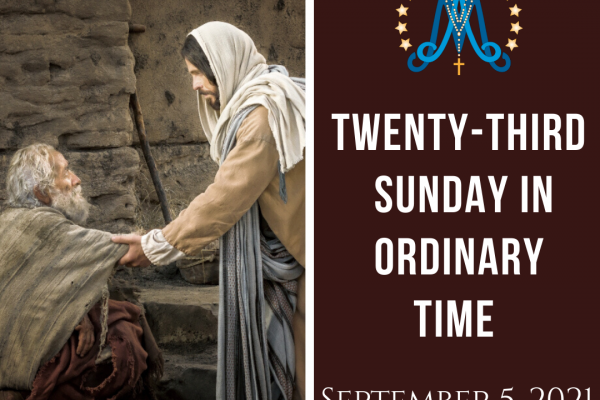 Twenty-Third Sunday in Ordinary Time