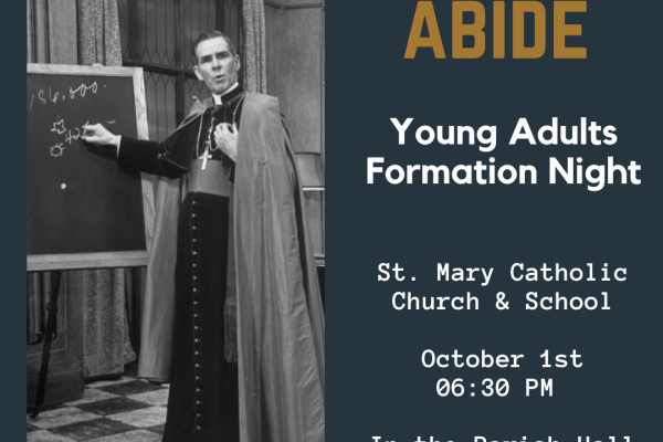 Young Adults Formation Night