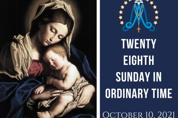 Twenty-Eighth Sunday in Ordinary Time