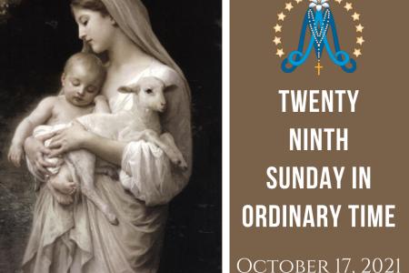 Twenty-Ninth Sunday in Ordinary Time