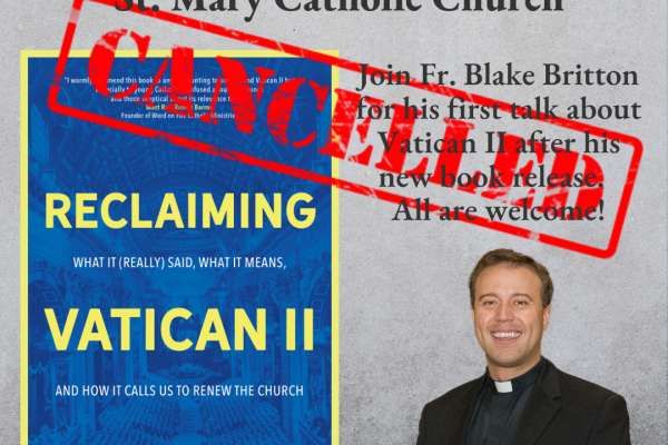 Second Vatican Council with Fr. Blake
